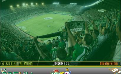 Previa | Real Betis Balompié-S.D Éibar; Luchen y corran por el escudo