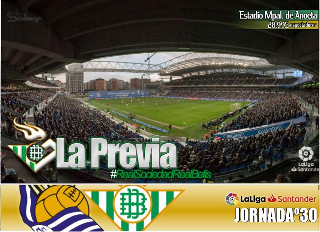 Previa | Real Sociedad-Real Betis Balompié; Cambiar de dinámica