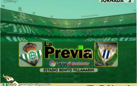 Previa | Real Betis Balompié – CD Leganés: Que a la tercera sea la vencida