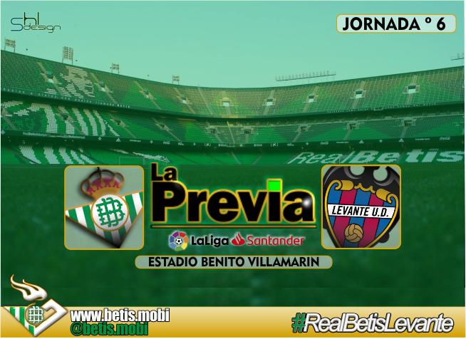 Previa | Real Betis Balompié-Levante UD; Vencer y convencer