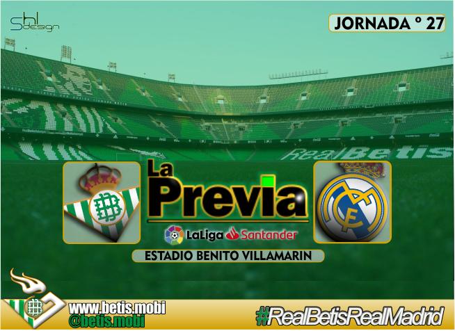 Previa | Real Betis Balompié-Real Madrid; Dar un golpe en la mesa…
