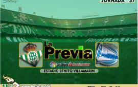 Previa | Real Betis Balompié – Deportivo Alavés; A despedir al Villamarín con honor