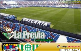Previa | Levante-Real Betis Balompié; Solo queremos ganar