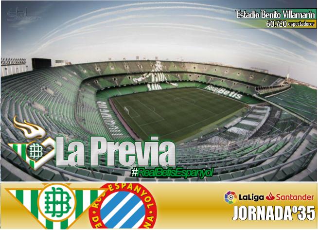 Previa   Real Betis Balompié-RCD Espanyol; Por orgullo y por el escudo