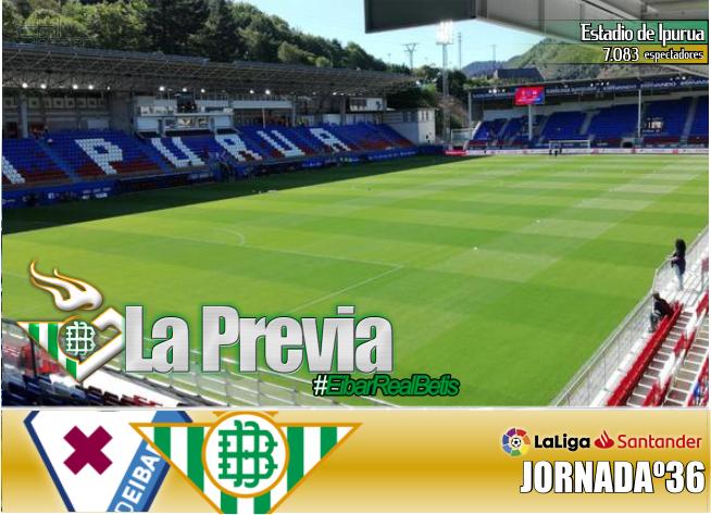 Previa Eibar – Real Betis Balompié; DIGNIDAD