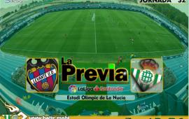 Previa | Levante-Real Betis Balompié: Un día menos