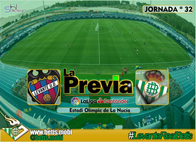 Previa   Levante-Real Betis Balompié: Un día menos