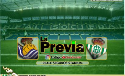 Previa | Real Sociedad-Real Betis Balompié: Nueva prueba de calibre