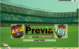 Previa | FC Barcelona – Real Betis Balompié: En busca de otra hazaña