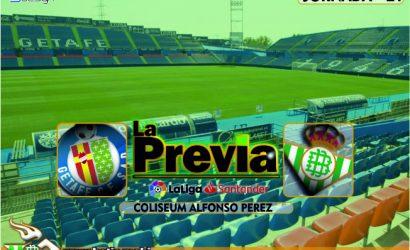 Previa | Getafe Fc-Real Betis Balompié; Pasar página